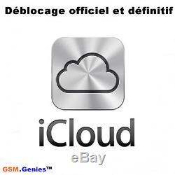 Déblocage iCloud Unlock Remove iCloud iPhone iPad France SFR Bouygue Free Orange