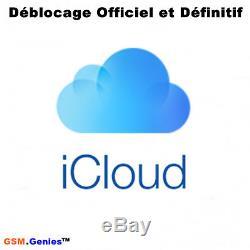 Déblocage icloud France iPhone iPad 1 a 7 jours Quantité Limité Promotion