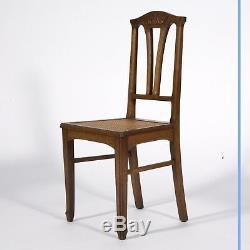 Desserte et série de chaises Art Nouveau, XXe