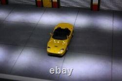 Diorama 1/43 atelier garage Ferrari éclairage LEDS 143 no car 58x18.7x30.5cm