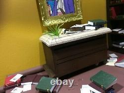 Diorama TINTIN le secret de la licorne no Pixi Aroutcheff Leblon