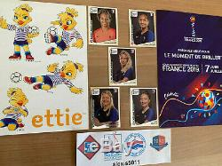 Extra Stickers Panini Wc France 2019 Women 5 Mint Shiny Silver Stickers