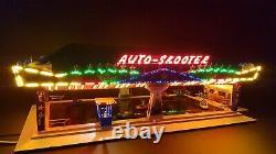 Façade lumineuse STAR DRIVE 1 grand côté Faller 140422 H0 Kirmes beleuchtung