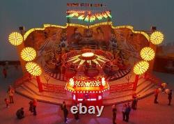 Façade lumineuse pour Flipper Faller 140439 H0 Kirmes beleuchtung