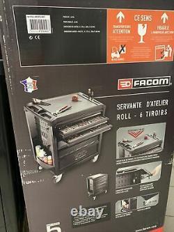 Facom Servante d'atelier de sécurité 6 tiroirs ROLL. 6M3PG100Y