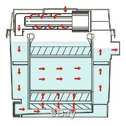 Filtre bio CBF-200T Système complet, UV+ Pompe