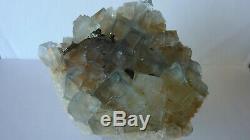Fluorite Du Burc (81 Tarn) France