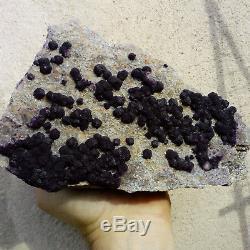 Fluorite/fluorine Quartz 1 Buxieres Les Mines Allier France