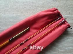 Fly fishing bamboo rod Pezon & Michel Ritz Superparabolic PPP Traün 8'2 NEW