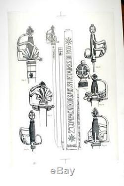 Forte-épée de la 2de compagnie des Mousquetaires du Roi réplique