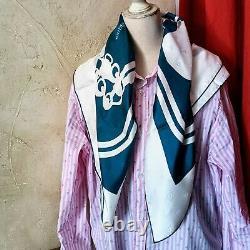 Foulard Hermes Brides de Gala Neuf Soie Silk Scarf Tuch Jacquard