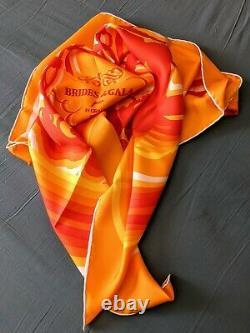 Foulard Hermes Brides de Gala Shadow Neuf Soie Silk Scarf Tuch