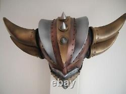 Goldorak tête casque Grendizer Limitée. Helmet édition Steampunk