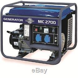 Groupe électrogène 2400w MERCURE 6,5 CV MC2700 FRANCE LIVRE SOUS 48/72H