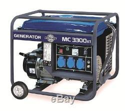 Groupe électrogène 2800 Watts MERCURE 3300KT FRANCE LIVRE SOUS 48/72H