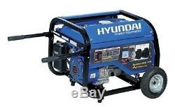 Groupe électrogène 3000 Watts HYUNDAI HG3600 + Roue FRANCE LIVRE SOUS 48/72H