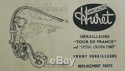 HURET ensemble TOUR DE FRANCE 1955 Spécial LOUISON BOBET