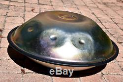 Handpan prototype 46cm Stickydrums 8+1 notes /video demo made in France