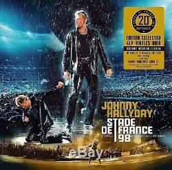 JOHNNY HALLYDAY Coffret STADE DE FRANCE 98 Numéroté. NEUF sous blister