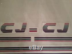 KIT COMPLET, Stickers autocollants, Peugeot 205 CJ Cabriolet