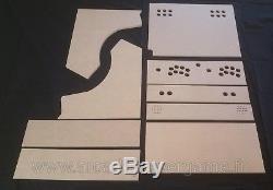 Kit Bartop Arcade XXL 2 players Spécial Raspberry pi 3 (MADE IN FRANCE)