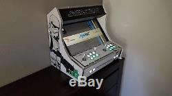 Kit Bartop Arcade XXL 2 players pour raspberry pi 3 (MADE IN FRANCE)
