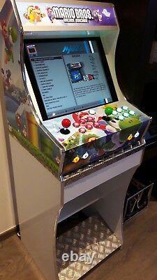 Kit Bartop Borne Arcade 2 players Spécial Raspberry pi 3 + socle