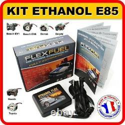 Kit Ethanol E85 4 Cylindres, Flex Fuel Kit, Kit De Conversion Bioethanol E85