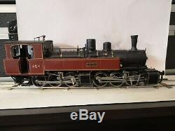 Kit locomotive à vapeur Mallet CFD Vivarais Loco-Diffusion échelle O 0 Om 0m