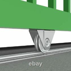 Kit pour portail coulissant sur rail au sol de 400 kg