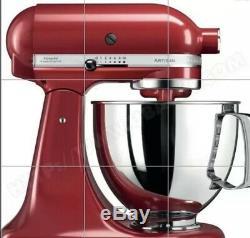 KitchenAid 5KSM125EER 489 Artisan ROBOT PTISSIER Rouge Empire BOL 4,8 L 300 W
