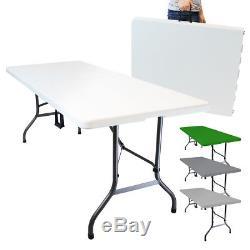 LINXOR FRANCE TABLE DE CAMPING PLIABLE (L) 184 x (l) 76 x (H) 74 cm / Pliante
