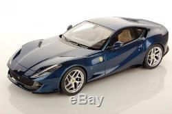 LOOKSMART LOOLS18-014B Ferrari 812 Superfast Bleu tour de France 2017 1/18