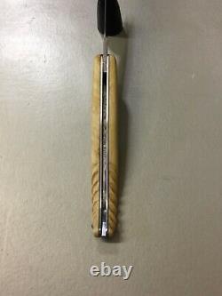 Laguiole 12 cm, Manche en Buis Torsadé, par Laguiole Armand