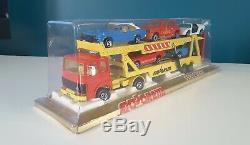 MAJORETTE série 3000 camion SAVIEM PORTE AUTO 3090 Made in FRANCE NEUF EN BOITE