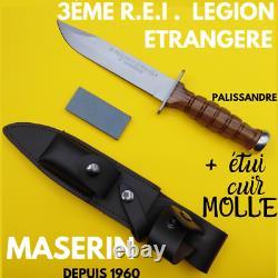 MASERIN COUTEAU FIXE REGIMENT LEGION ETRANGERE 3ème REI FRANCE