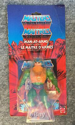 MASTERS OF THE UNIVERSE MAITRES DE L'UNIVERS Man-at-arms Malaysia MOC Euro