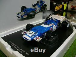 MATRA MS80 #7 2nd F1 GP FRANCE de 1969 JP. BELTOISE 1/18 SPARK 18SF001 formule 1
