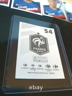 MBAPPE PANINI 2018 WC PSA 10 Rookie X 10 NEW MINT STICKERS 9 SILVER +1 GOLD
