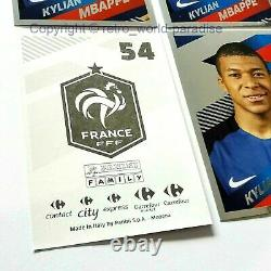 MBAPPE PANINI WORLD CUP RUSSIA 2018 Rookie x8 stickers NEW MINT 2018 RARE