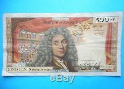 MOLIERE 500 NF (nouveaux francs) 4 / 1 / 1963