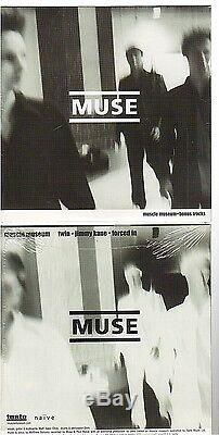 MUSE MUSCLE MUSEUM + BONUS france french CD PROMO 500ex card sleeve NEW NEUF