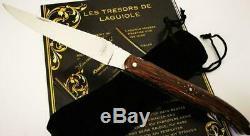 Magnifique Couteau Neuf Laguiole DAVID DAUVILLAIRE Bois de Tento 22/12 cm Joli
