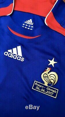 Maillot Adidas Matchworn Equipe De France Ribery N22