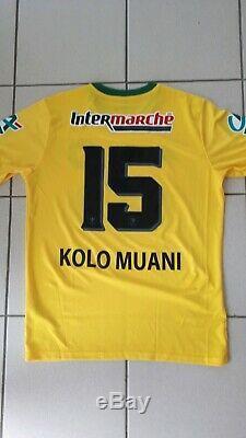 Maillot Coupe de France Fc NANTES préparé KOLO MUANI pour demi finale face PSG