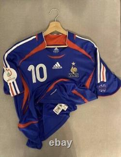 Maillot Jersey France Coupe Du Monde 2006 World Cup Porté Préparé Worn Govou 10