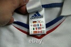 Maillot Jersey France Euro 2000 Finale Didier Deschamps Porté Worn Préparé
