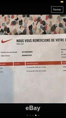 Maillot Nike Equipe De France Centenaire FFF Neuf