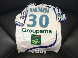 Maillot Om Formotion Mandanda Rare France Marseille Gardien