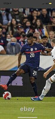Maillot Porté COMAN equipe de france France Vs BOSNIE